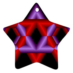 Star Of David Star Ornament (Two Sides)