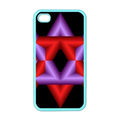 Star Of David Apple Iphone 4 Case (color)