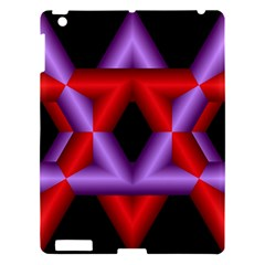 Star Of David Apple iPad 3/4 Hardshell Case
