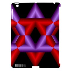 Star Of David Apple iPad 3/4 Hardshell Case (Compatible with Smart Cover)