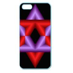 Star Of David Apple Seamless iPhone 5 Case (Color)