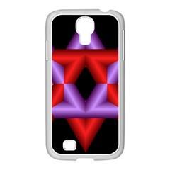 Star Of David Samsung GALAXY S4 I9500/ I9505 Case (White)