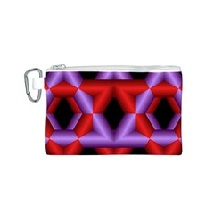 Star Of David Canvas Cosmetic Bag (S)