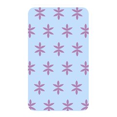 Flower Floral Different Colours Blue Purple Memory Card Reader