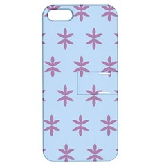 Flower Floral Different Colours Blue Purple Apple iPhone 5 Hardshell Case with Stand