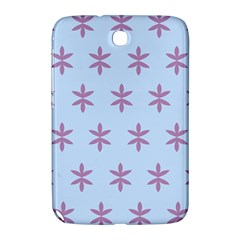 Flower Floral Different Colours Blue Purple Samsung Galaxy Note 8.0 N5100 Hardshell Case