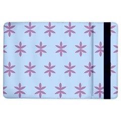 Flower Floral Different Colours Blue Purple iPad Air Flip