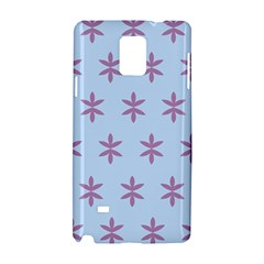 Flower Floral Different Colours Blue Purple Samsung Galaxy Note 4 Hardshell Case