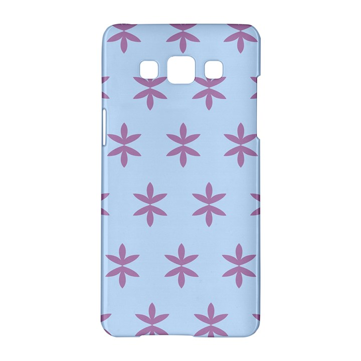 Flower Floral Different Colours Blue Purple Samsung Galaxy A5 Hardshell Case