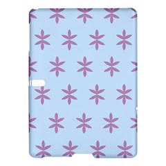Flower Floral Different Colours Blue Purple Samsung Galaxy Tab S (10.5 ) Hardshell Case