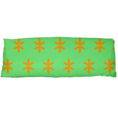 Flower Floral Different Colours Green Orange Body Pillow Case Dakimakura (Two Sides)