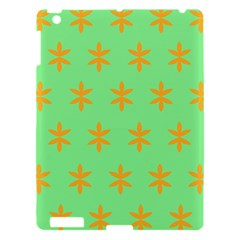 Flower Floral Different Colours Green Orange Apple iPad 3/4 Hardshell Case