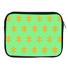 Flower Floral Different Colours Green Orange Apple iPad 2/3/4 Zipper Cases
