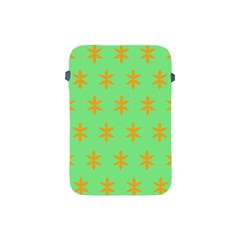 Flower Floral Different Colours Green Orange Apple iPad Mini Protective Soft Cases