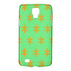 Flower Floral Different Colours Green Orange Galaxy S4 Active