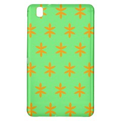 Flower Floral Different Colours Green Orange Samsung Galaxy Tab Pro 8.4 Hardshell Case