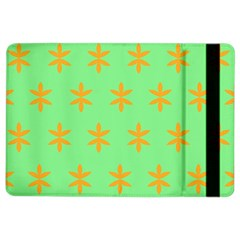 Flower Floral Different Colours Green Orange iPad Air 2 Flip