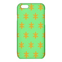 Flower Floral Different Colours Green Orange iPhone 6/6S TPU Case