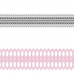 Crown King Quinn Chevron Wave Pink Black Magic Photo Cubes