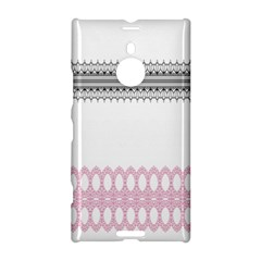 Crown King Quinn Chevron Wave Pink Black Nokia Lumia 1520