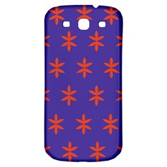 Flower Floral Different Colours Purple Orange Samsung Galaxy S3 S III Classic Hardshell Back Case