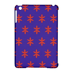 Flower Floral Different Colours Purple Orange Apple iPad Mini Hardshell Case (Compatible with Smart Cover)