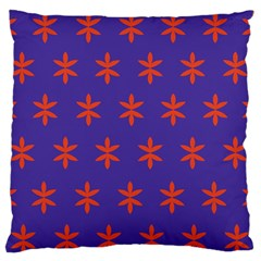 Flower Floral Different Colours Purple Orange Standard Flano Cushion Case (One Side)