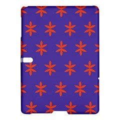 Flower Floral Different Colours Purple Orange Samsung Galaxy Tab S (10.5 ) Hardshell Case