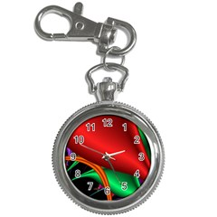 Fractal Construction Key Chain Watches