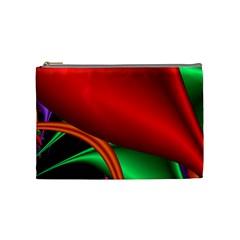 Fractal Construction Cosmetic Bag (Medium)