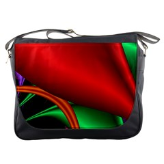 Fractal Construction Messenger Bags
