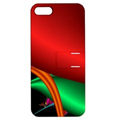 Fractal Construction Apple Iphone 5 Hardshell Case With Stand