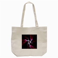 Colorful Fractal Background Tote Bag (Cream)