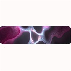 Colorful Fractal Background Large Bar Mats