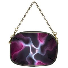 Colorful Fractal Background Chain Purses (Two Sides)