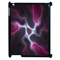 Colorful Fractal Background Apple iPad 2 Case (Black)