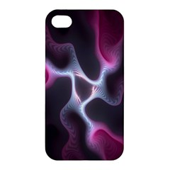 Colorful Fractal Background Apple iPhone 4/4S Hardshell Case