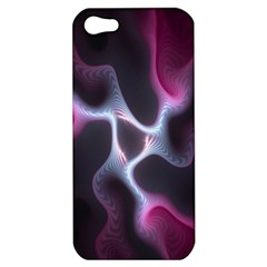 Colorful Fractal Background Apple iPhone 5 Hardshell Case