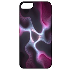 Colorful Fractal Background Apple iPhone 5 Classic Hardshell Case