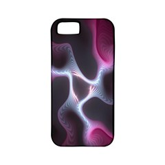 Colorful Fractal Background Apple iPhone 5 Classic Hardshell Case (PC+Silicone)
