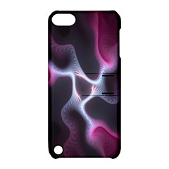 Colorful Fractal Background Apple iPod Touch 5 Hardshell Case with Stand