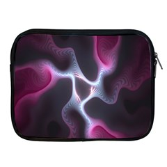 Colorful Fractal Background Apple Ipad 2/3/4 Zipper Cases