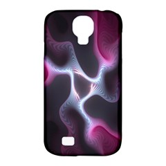 Colorful Fractal Background Samsung Galaxy S4 Classic Hardshell Case (PC+Silicone)
