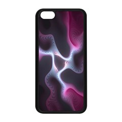 Colorful Fractal Background Apple iPhone 5C Seamless Case (Black)
