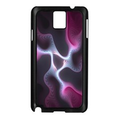 Colorful Fractal Background Samsung Galaxy Note 3 N9005 Case (Black)