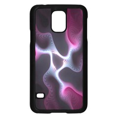Colorful Fractal Background Samsung Galaxy S5 Case (Black)