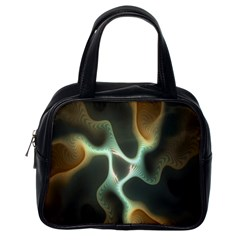 Colorful Fractal Background Classic Handbags (one Side)