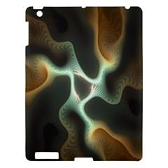 Colorful Fractal Background Apple iPad 3/4 Hardshell Case