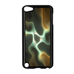 Colorful Fractal Background Apple iPod Touch 5 Case (Black)