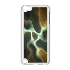 Colorful Fractal Background Apple iPod Touch 5 Case (White)